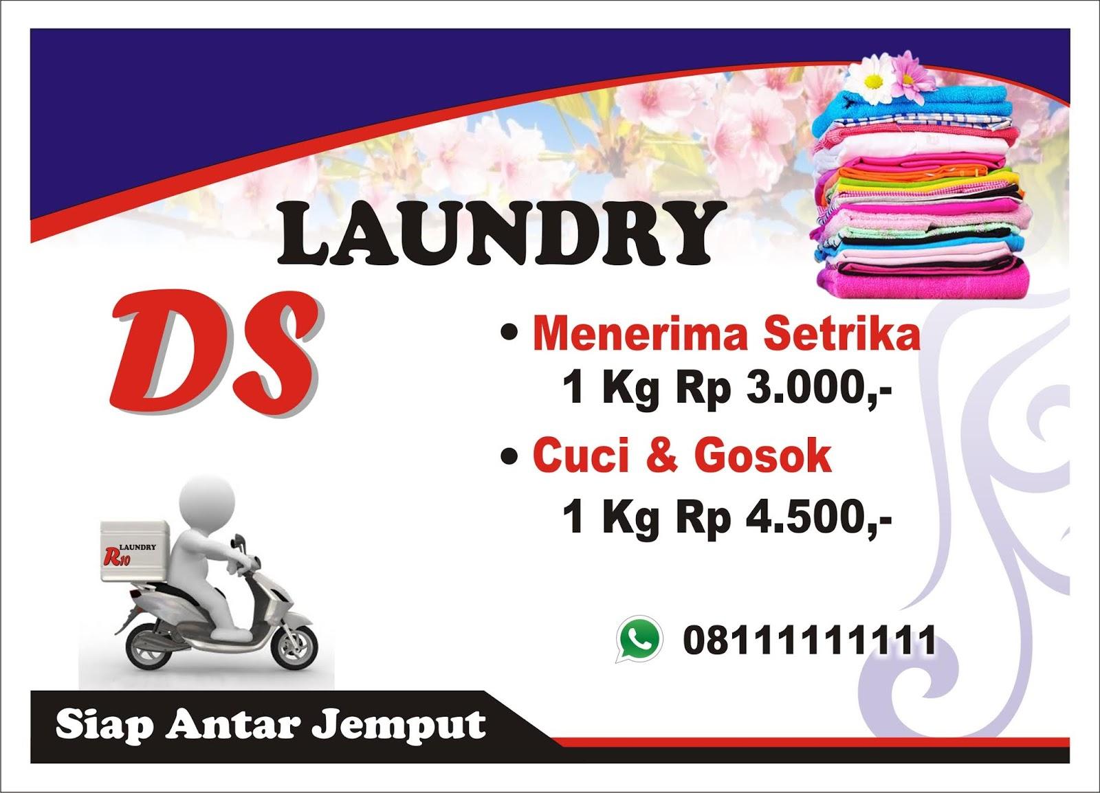 Contoh Brosur Laundry Sederhana Kumpulan Soal Pelajaran 9