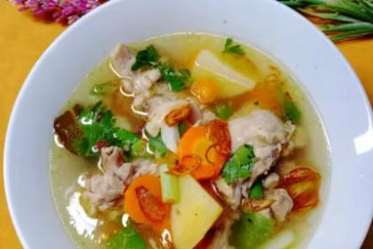 Resep Sop Ayam Pak Min Klaten Super Enak