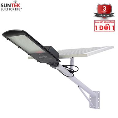 Đèn đường năng lượng mặt trời Suntek 150w Solar panel: Poly 6V/60W