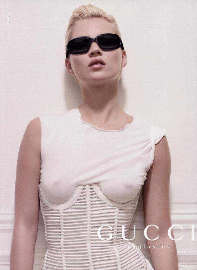 358d5c04a56 Kate Moss in Gucci corset.