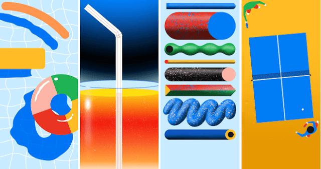 تحميل خلفيات Google Pixel 4a بدقة [FHD+]