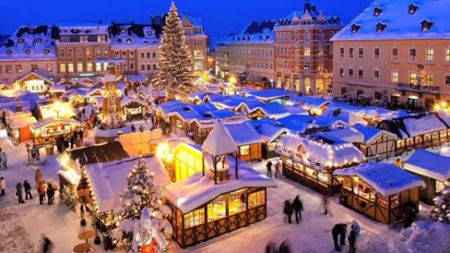 This Christmas Visit These Places Around The World