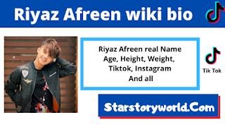 Riyaz Afreen bio