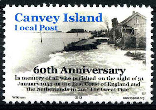 """Detail """"The Great Tide"""" stamp set 2013"""
