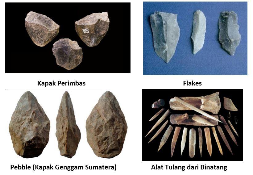 12 Alat Manusia Purba Pada Zaman Batu Dan Gambar Penjelasan