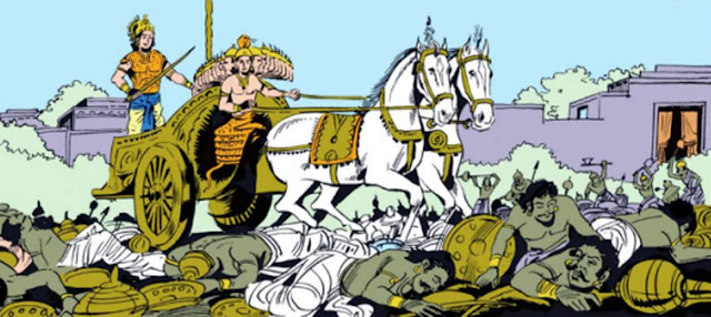 Pradyumna and Ananta against Asuras