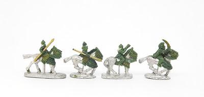 Satrapal Guard cavalry x 4
