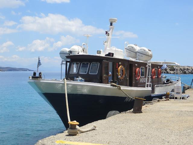 samaria schlucht kreta boot