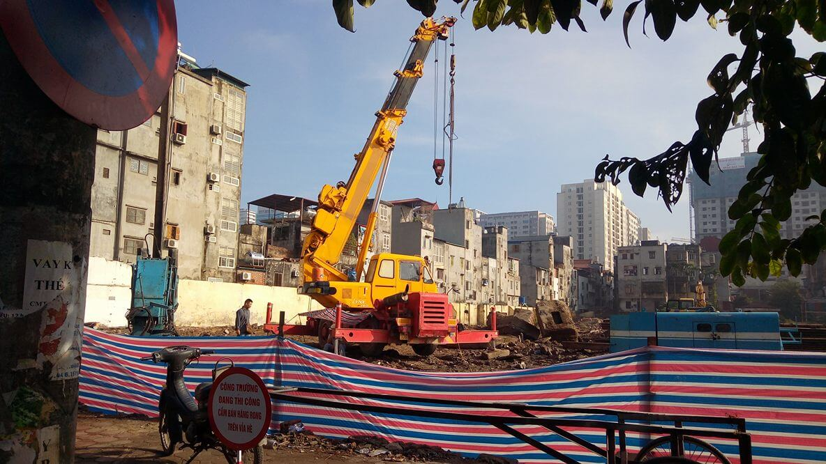 Cập nhật tiến độ thi công chung cư 82 Nguyễn Tuân