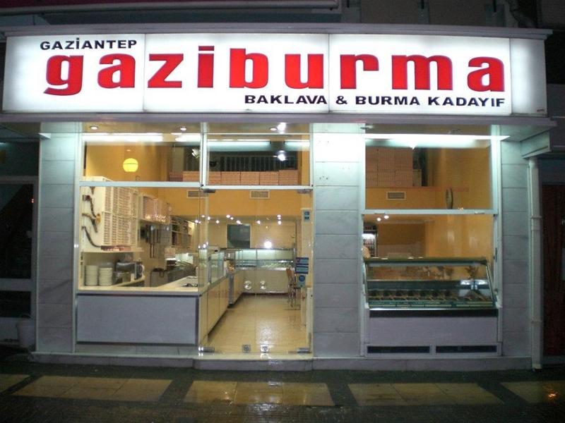 İstanbul Baklava Dükkanı