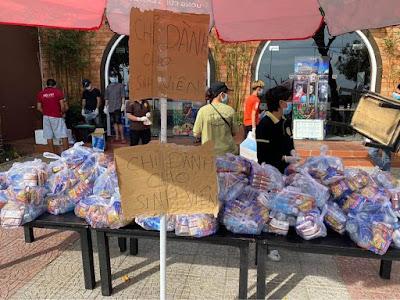 Nhà hàng Rêu Việt hỗ trợ sinh viên trong mùa dịch