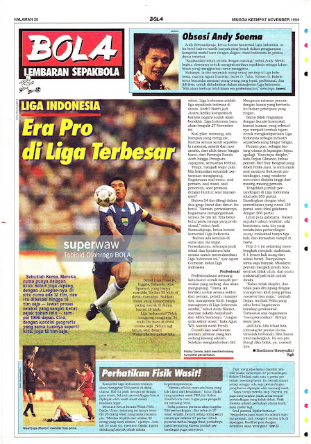 LIGA INDONESIA Era Pro Di Liga Terbesar