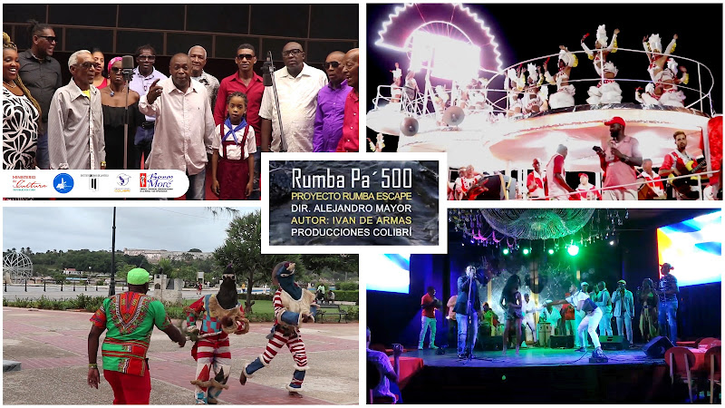 Proyecto Rumba Escape - ¨Rumba pá 500¨ - Videoclip - Director: Alejandro Mayor. Portal Del Vídeo Clip Cubano