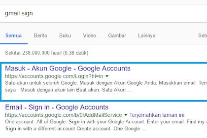 Cara membuat akun Gmail dengan mudah dan gratis