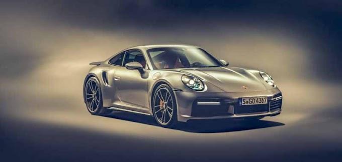 Porcshe 911 turbo s 2021