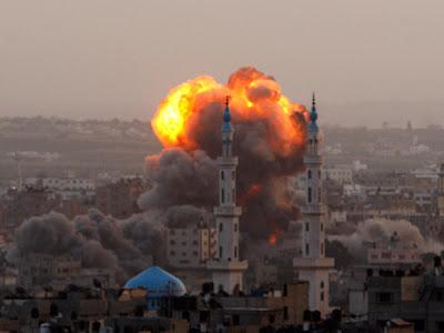 Hamás ataca con misiles