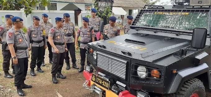 Satbrimobda Banten, Apel Kesiapan Operasi Kontijensi Aman Nusa II Tahun 2020