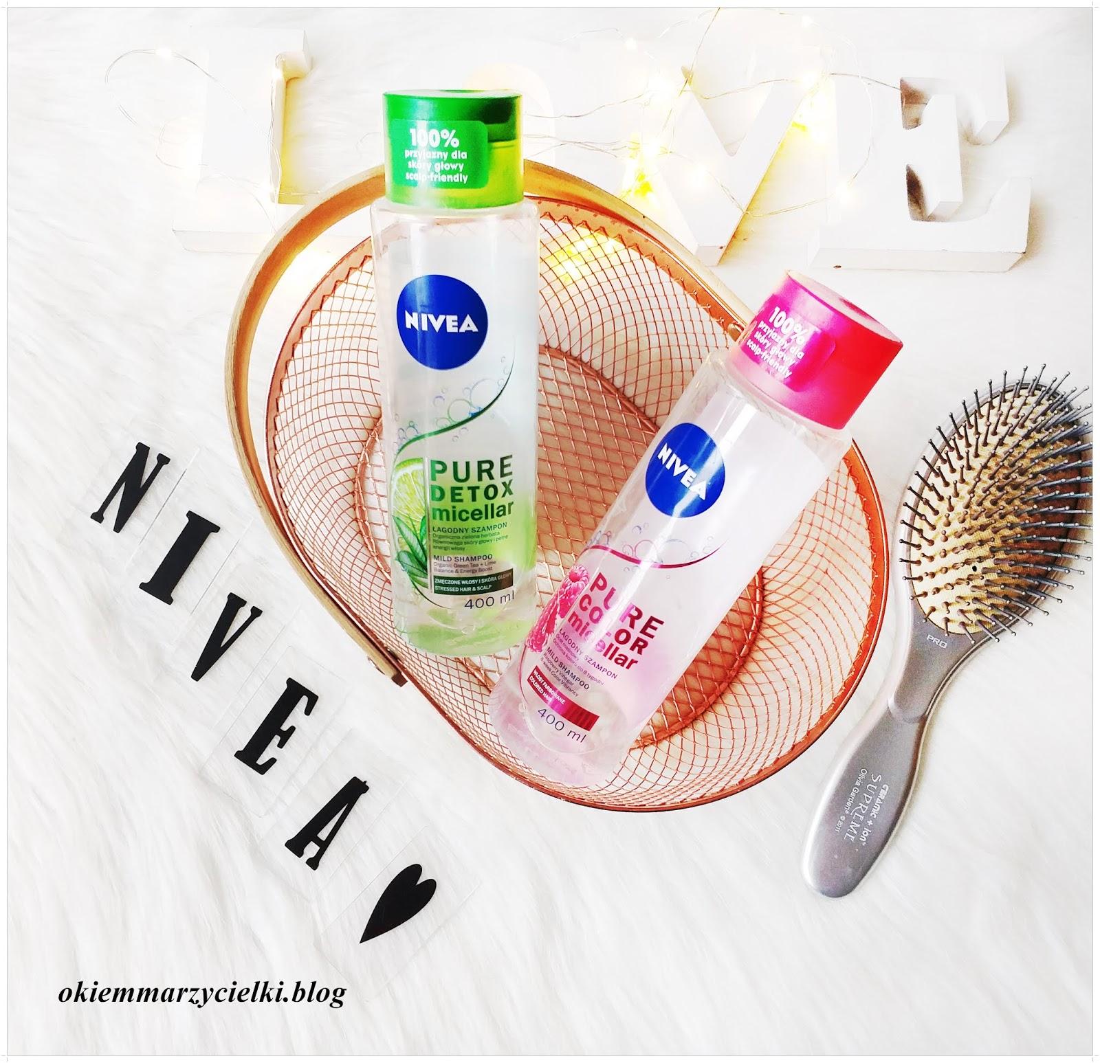 BITWA: Łagodne micelarne szampony Pure Color & Pure Detox, Nivea-recenzja #123