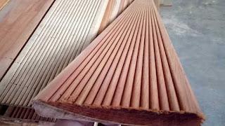 decking kayu kempas