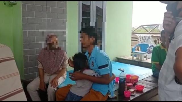 Ditangkap Usai Bacok Tetangga, Pesan Pelaku ke Anaknya Bikin Haru