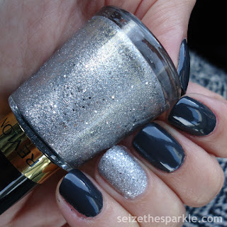 Silver Accent Nails
