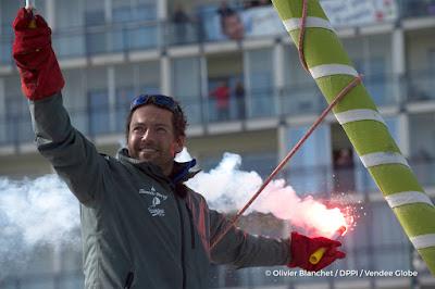 Romain Attanasio prépare son deuxième Vendée Globe
