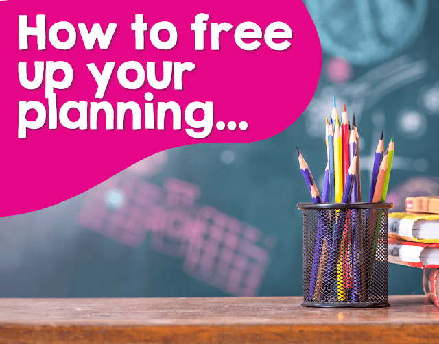 Planning time is sacred for teachers, and in this post, I share five ways to free up your planning to get things done.