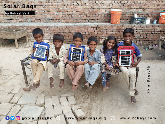 Solar Bags by Rohayl
