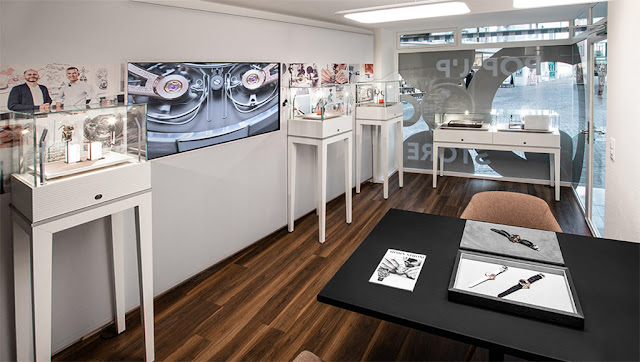Armin Strom first Pop-Up Store in Zurich