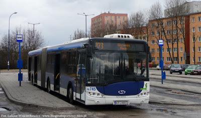 Solarisy Urbino 18 z MPK Kraków