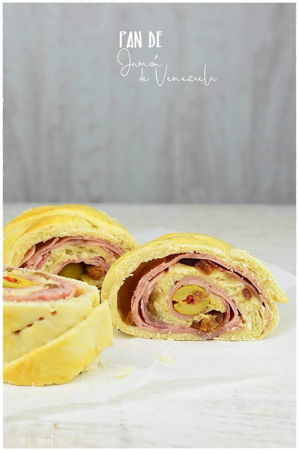Pan de jamón- Receta de pan de jamón, una receta navideña tradicional de Venezuela