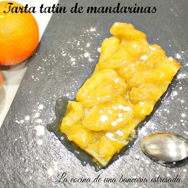 Tarta tatin de mandarinas, receta paso a paso y con fotografías