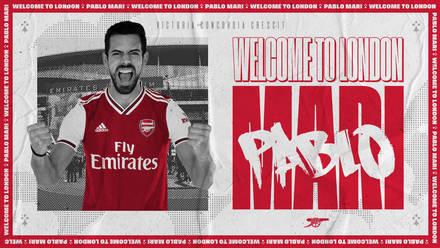 BREAKING: Arsenal Announce Pablo Mari Signing