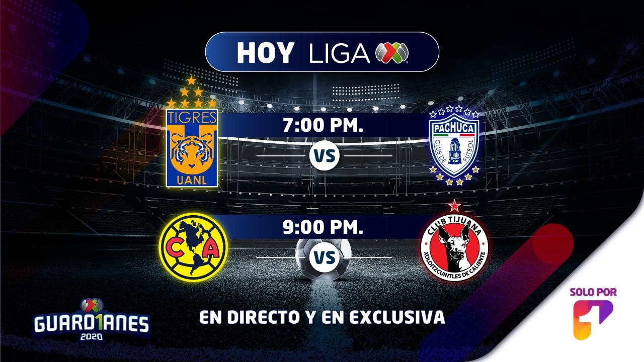 Este sábado regresa la Liga MX a Canal 1 por partida doble