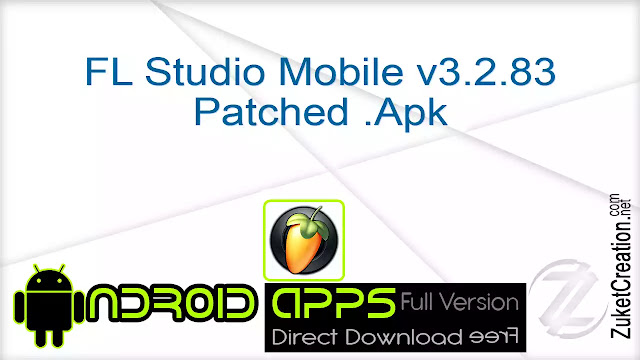 FL Studio Mobile v3.2.83 Patched .Apk