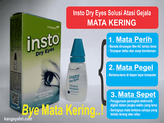 Insto Dry Eyes Solusi Awal Atasi Gejala Mata Kering