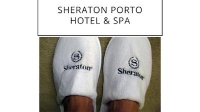 chinelos do hotel Sheraton