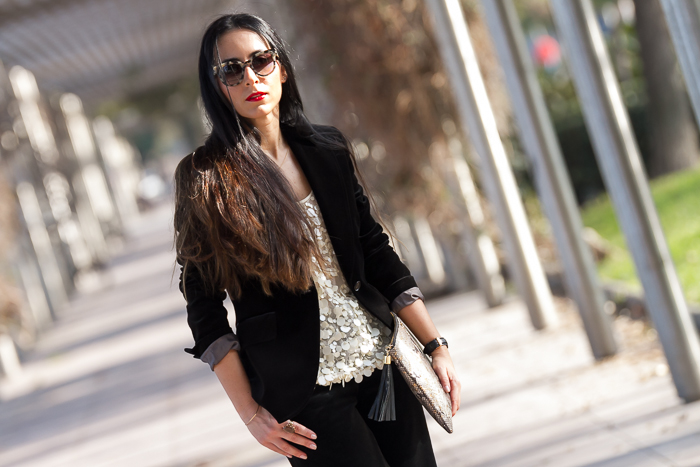 Velvet Suit With Or Without Shoes Blog Influencer Moda