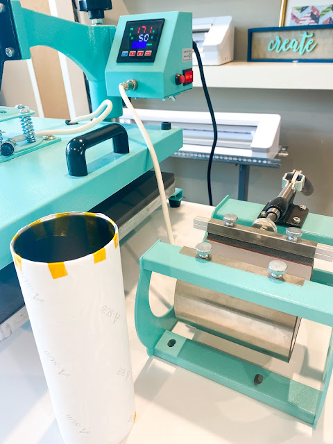 sawgrass, silhouette and sublimation, 8-in-1 heat press, skinny tumbler sublimation, sublimation, high heat tape