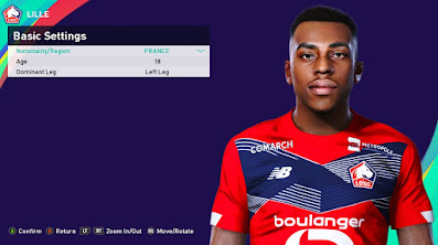 PES 2021 Faces Isaac Lihadji by Rachmad ABs