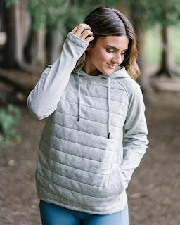 Gray Combo Pocket Sweatshirt