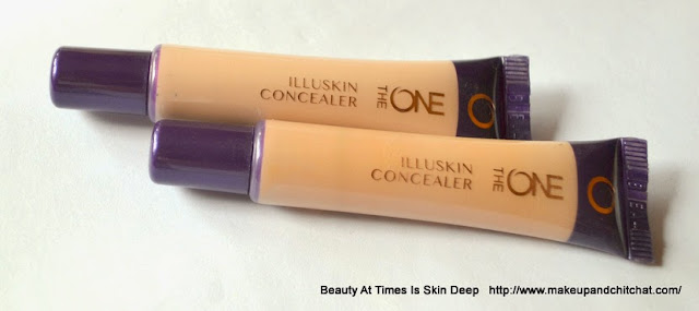 Oriflame the ONE Illuskin Concealer in Fair Light and Nude Beige Review
