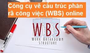 Công cụ vẽ cấu trúc phân rã công việc (WBS) online