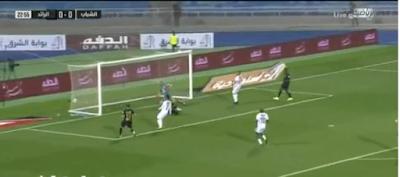 اهداف مباراة الشباب والرائد