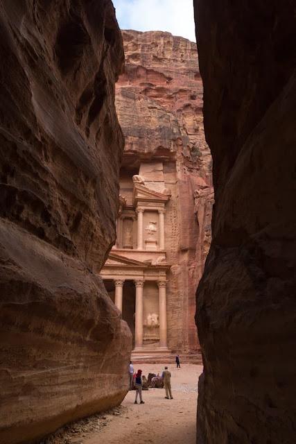 Entrada al Tesoro de Petra