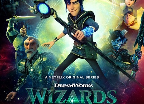 Download Wizards : Tales of Arcadia (2020) S01 Dual Audio [Hindi+English] 720p + 1080p WEB-DL ESub