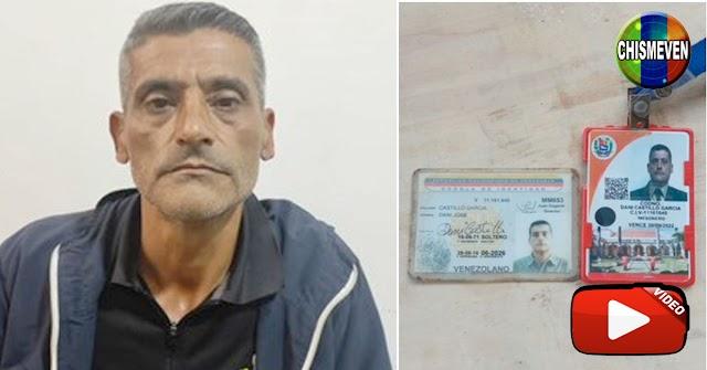 Mesonero de Miraflores detenido en Puente Llaguno con explosivos