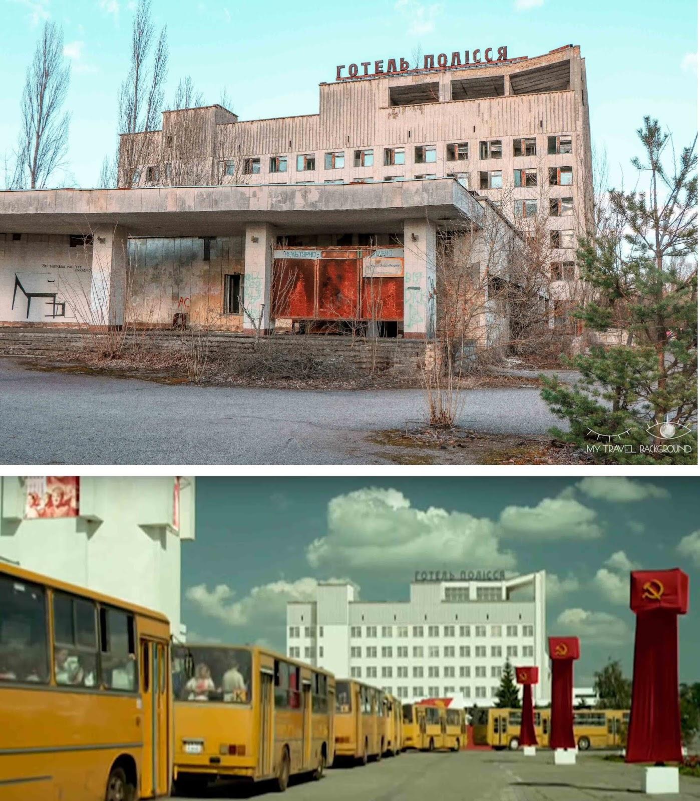 My Travel Background : une journée dans la zone d'exclusion de Tchernobyl - Prypiat avant/après