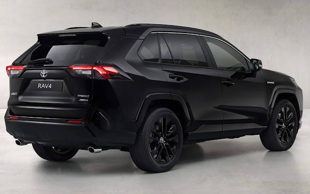 Toyota RAV4 Hybrid 2021 Black Edition