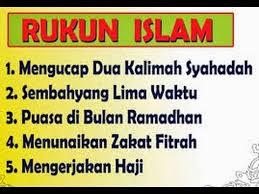Pengertian Dan Rukun - Rukun Islam